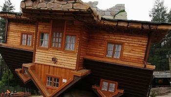 Перевёрнутые дома